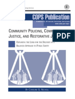 Community Policing Community Justice