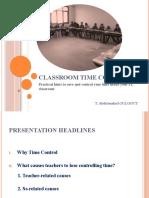 Classroom Time Control