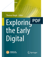 Week 1 Reading - haigh - exploring the early digital