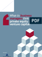 Business Managers on Private Equity