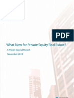 Preqin Private Equity Real Estate November 2010