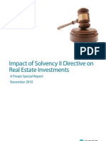 Preqin_Impact of Solvency on Real Estate Investments