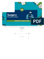 13 Surgery (Perioperative Client) Nursing Care Plans - Nurseslabs