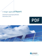 Preqin Report Cleantech in Emerging Markets