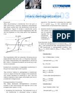 TA_603-E_Demagnetization_of_power_transformers