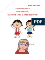 proiect_tematic SUNTEM DIFERITI ,DAR EGALI1