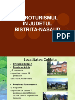 Agroturismul in Judetul Bistrita-Nasaud