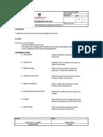 PROCESSING OF SUBCONTRACTOR PROGRESS BILLING WORK INSTRUCTION