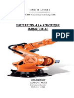 COURS  D'INITIATION  A  LA  ROBOTIQUE  2019