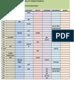 Calendrier 2011 Minivert Minicross et ligue provence prévisionnel