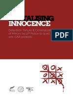 Brutalizing Innocence Report
