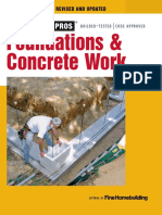 Foundations & Concrete Work - Editors of Fine Homebuilding.pdf