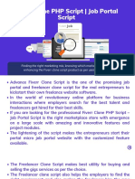 Freelance Marketplace Script | Job Portal Script