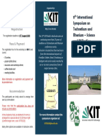 202001 ISTR2020-Karlsruhe Second Announcement