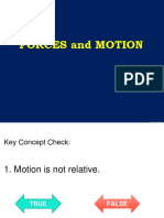 1 Forces and Motion