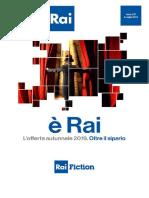 Palinsesti Rai Fiction 2019