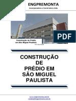 Construção de Prédio Em São Miguel Paulista