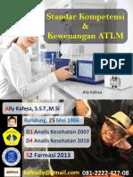 Standar Kompetensi & Kewenangan ATLM