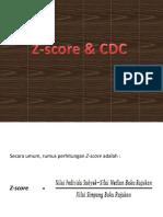 Cara Menghitung Z-Score Status Gizi Anak