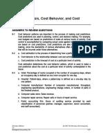 Activity Analysis, Cost Behavior.doc