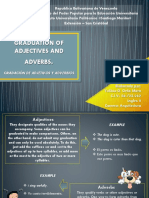 Graduation of Adjectives and Adverbs