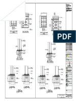 S-400 FOOTING AND PEDESTAL DETAILS