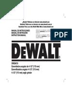 DWE4010 Instruction Manual
