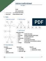 BD1 - 01 - Introduction Et Modèle Relationnel