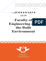 Engineering Postgraduate Yearbook 2019 - UJ