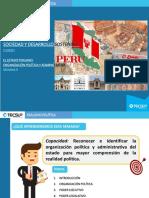 S09 Estado peruano. Organ. Polít. y Adm. (Diapositivas 09)