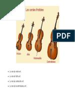 Le son de violon...