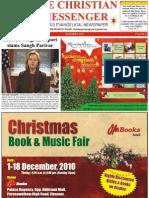 The Christian Messenger, epaper of December 2010 edition