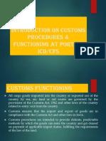 Customs and EXIM Procedure