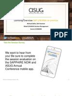 ASUG82650 - SAP S4HANA Licensing On Premise.pdf