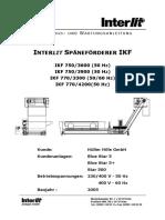 Interlit IKF 50 60Hz D