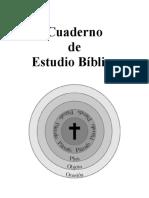 Cuaderno de Estudio Bíblico