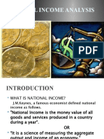 National Income Analysis Final
