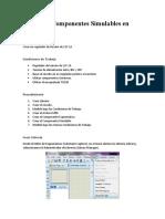 Diseño de Componentes Simulables en Proteus
