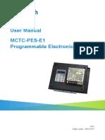 《MCTC-PES-E1扶梯可编程电子安全系统用户手册》-英文+19010187-A01.pdf