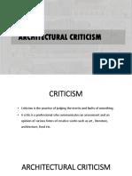 ARCHITECTURAL CRITICISM PPT - Copy