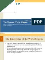 The Modern World System