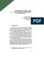 7. La responsabilidad civil por daño al medio ambiente en la legislación y jurisprudencia de la Unión Europea