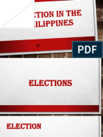 ELECTION IN THE PHILIPPINES
