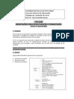 FDB - TCC - Guia de orientacao