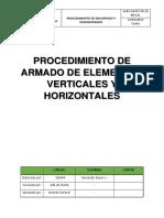 AVEC-SGSST-PR.11-PROCEDIMIENOS DE ARMADOS DE ELEMENTOS VERTICALES Y ORIZONTALES