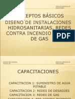 DISEÑO DE INSTALACIONES HIDRO SANITARIAS