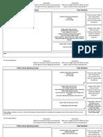 Photoshoot Planning Sheet