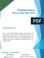 Fundamentos y cambios ISO 9001 2015 - Resumen