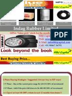 Indag Rubber Ltd -Value Pick Stock Reco for July 2010