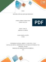 FASE 2 IDENTIFICACIÓN DEL ESCENARIO PROPUESTO